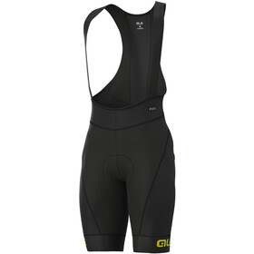 Alé Cycling R-EV1 Agonista Short de cyclisme Homme, black/fluo yellow